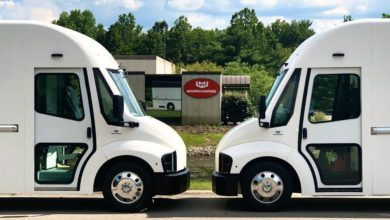 Photo of Ryder gets first two Workhorse electric vans