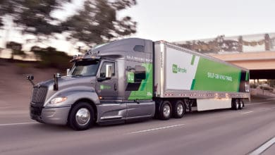 Navistar TuSimple driverless semi