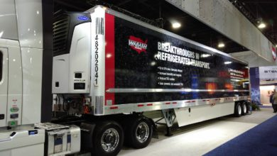 Wabash National zero-emissions trailer