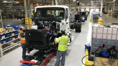 Photo of Mack starts early builds of medium-duty trucks