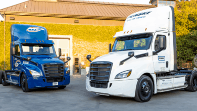 Photo of Freightliner electric fleet circles globe 12 times – sort of