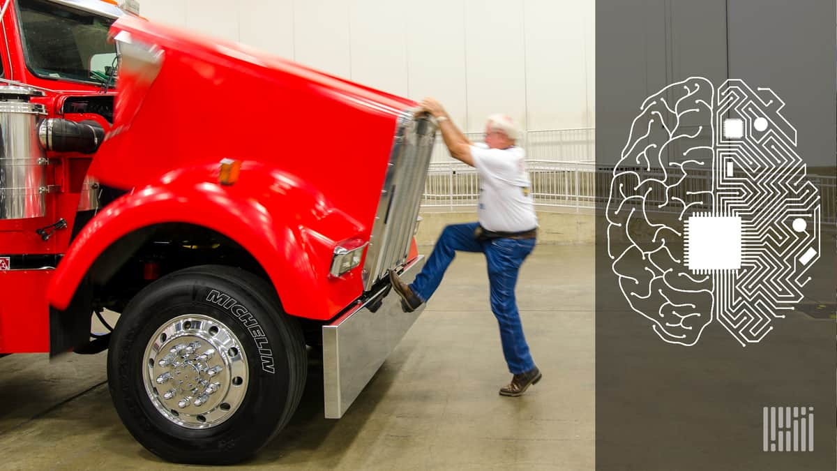 Commentary: Optimizing a truck fleet using artificial intelligence