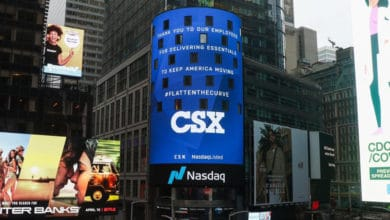 Photo of CSX's second-quarter net income falls 43%