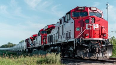 Photo of Canadian Pacific's second-quarter net profit falls 12%