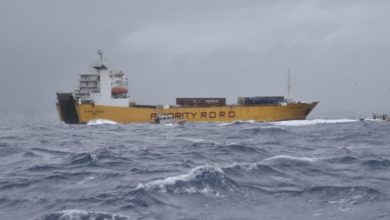 Photo of Coast Guard assists distressed cargo ship in rough weather