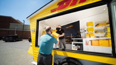 Photo of DHL tests 'pop-up' store concept in US