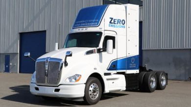 Electric truck powertrains