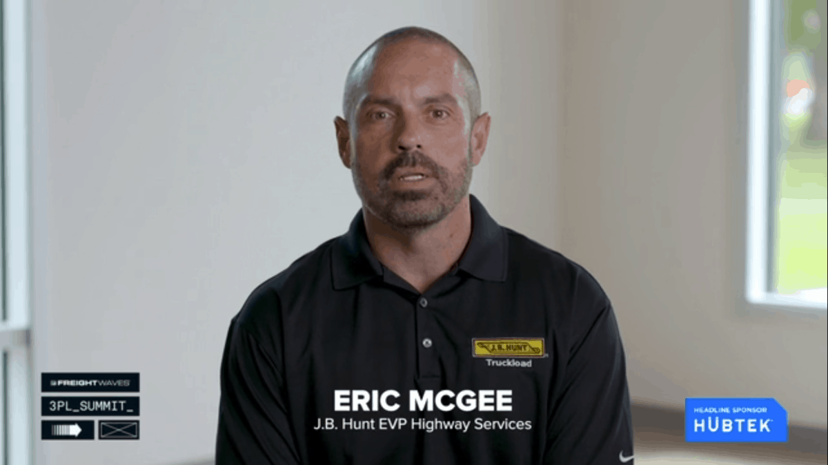 Eric McGee of J.B. Hunt talks about the success of its 360 digital freight platform.