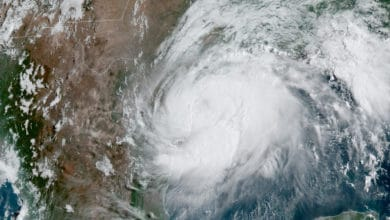 Photo of Hurricane Hanna takes aim at south Texas border