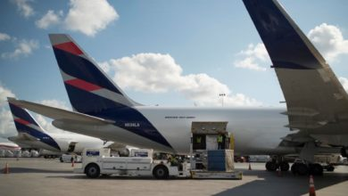 LATAM Airlines cargo airlift