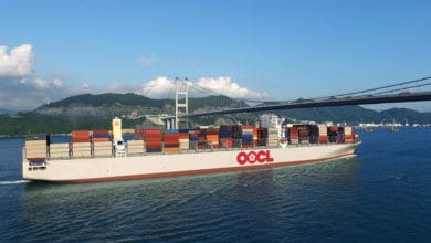 Photo of OOCL second-quarter revenues up, volumes down