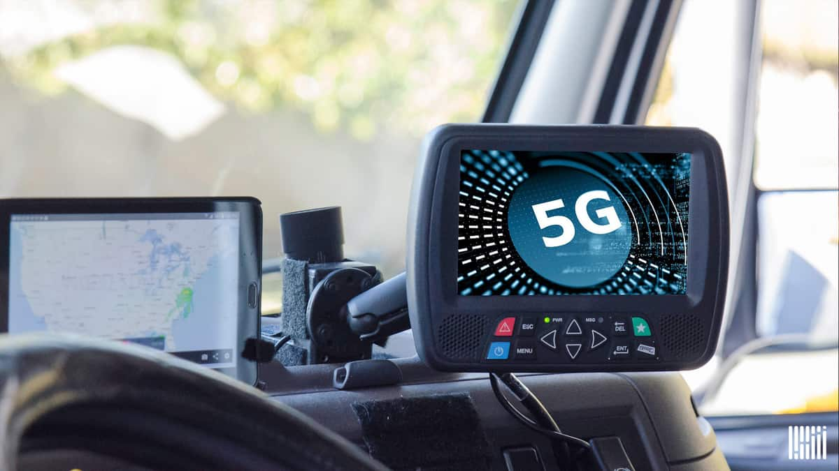Will equipment like this (electronic logging device and GPS) be 5G-enabled in the near future?