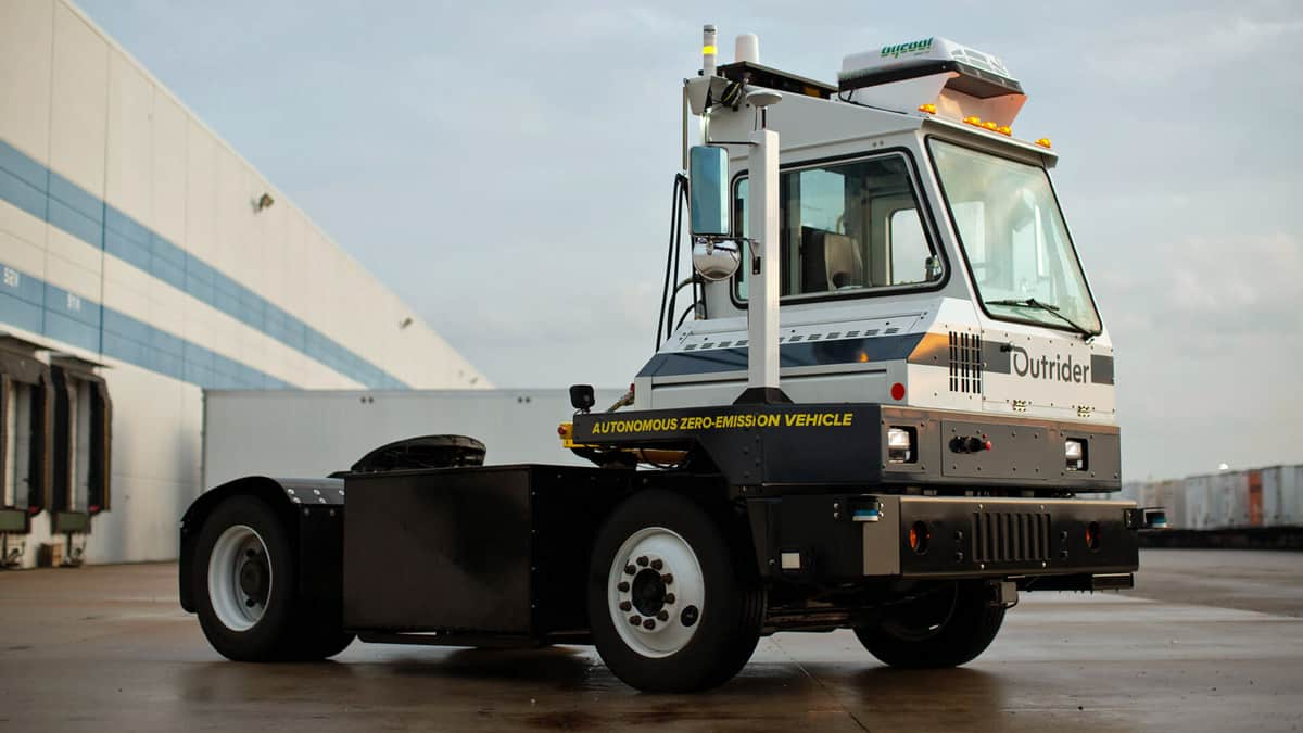 Outrider automates human-intensive yard and distribution center operations (Photo: Outrider)