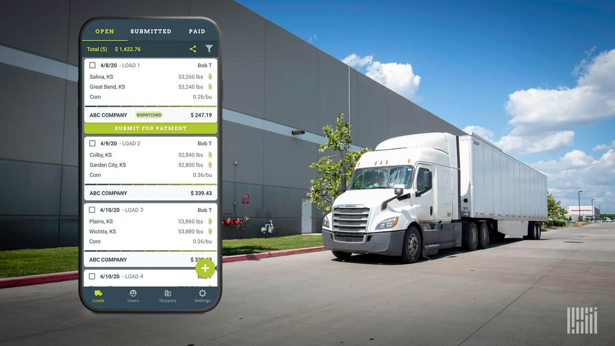 Roger enables bulk freight carriers save costs and increase efficiency (Photo: Jim Allen/FreightWaves)