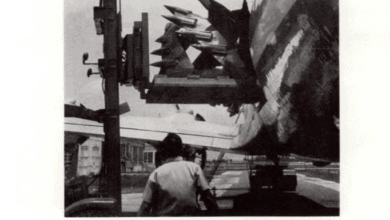 Photo of FreightWaves Flashback 1964: 6-ton steel cutter heads shipped by air