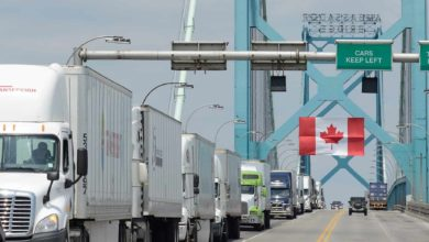 Photo of Cross-border trucker charged with bulk-cash smuggling of over $200,000