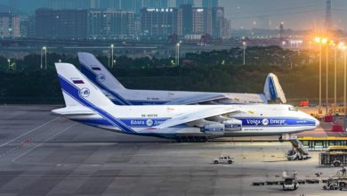 Photo of Russian airline completes massive airlift of medical supplies for France