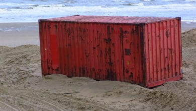Photo of Tiny fraction of containers lost at sea