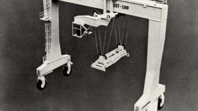 Photo of FreightWaves Flashback 1982: New container box stacker for Jax Port is state of the art