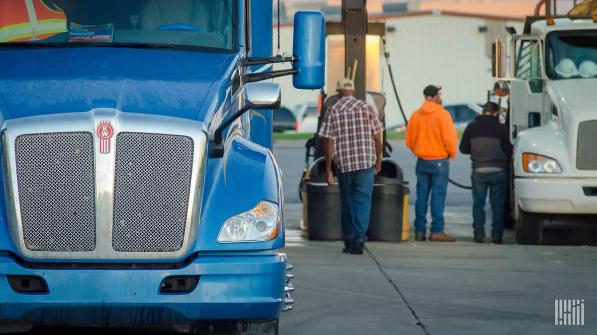 Drivers and trucks. Can they get matched up with their next load?