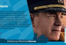 Photo of Career Tracks: Hanks recognized as American Maritime Hero