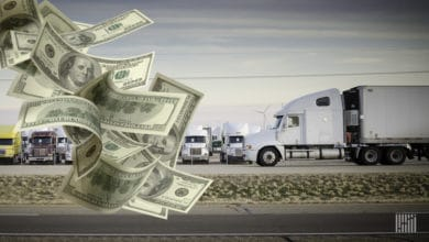 Photo of PPP money poured into trucking; did it keep capacity alive?