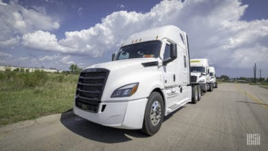 Photo of Freight demand takes Class 8 truck orders for a ride in July