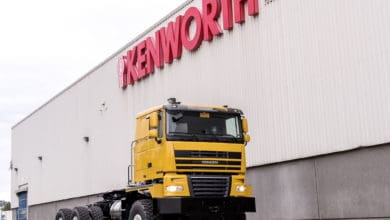 Photo of Kenworth retiring K500 severe-service truck after 14 years