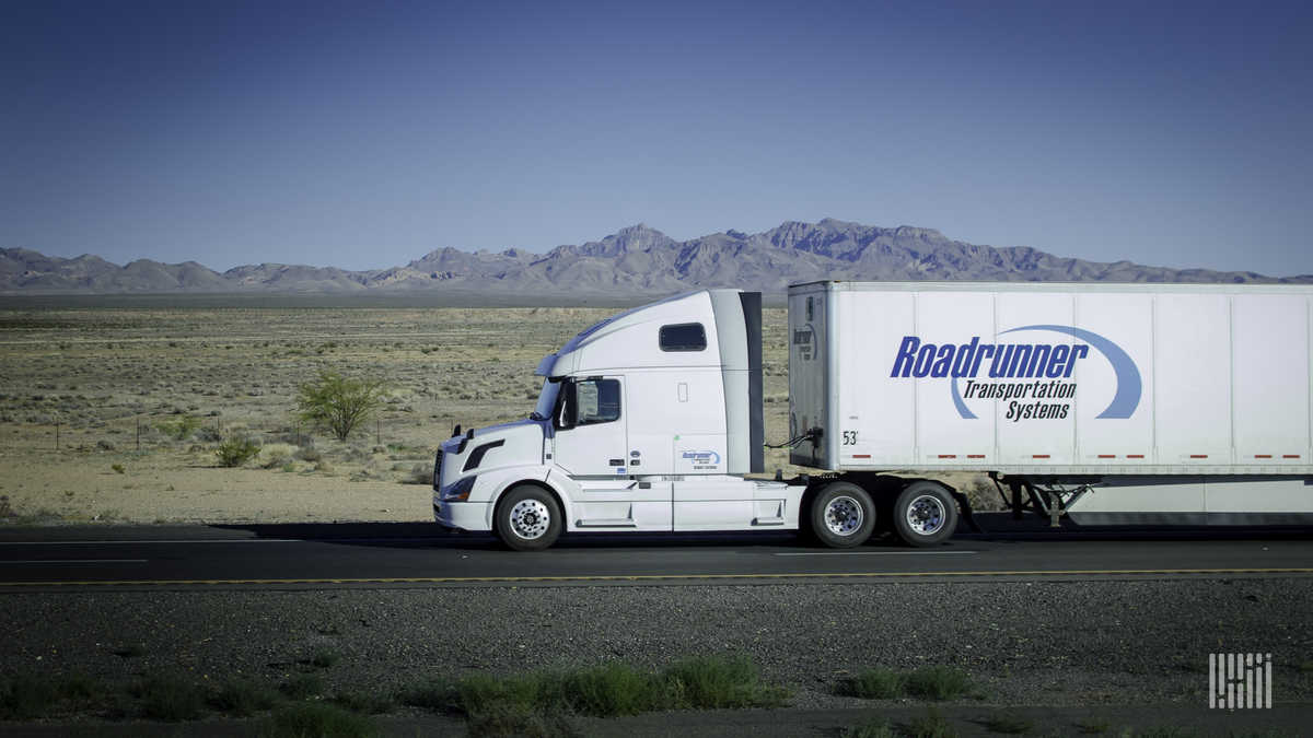 Roadrunner leaves truckload space