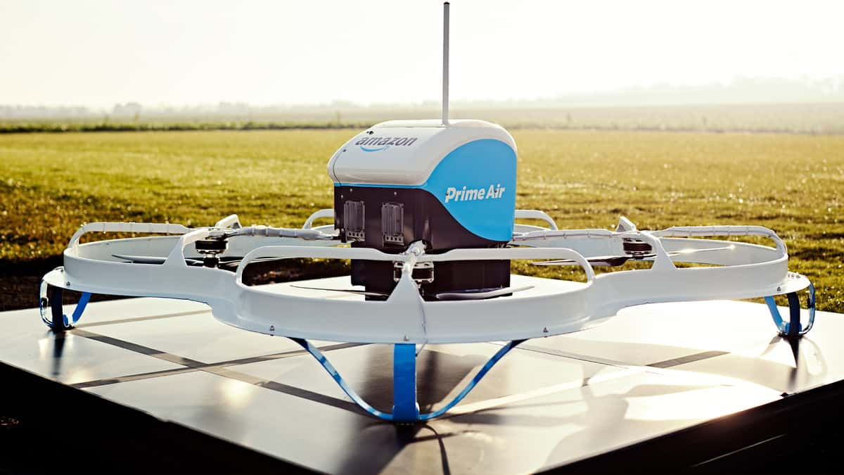 Amazon now authorized to fly commercial delivery drones (Photo: Amazon)