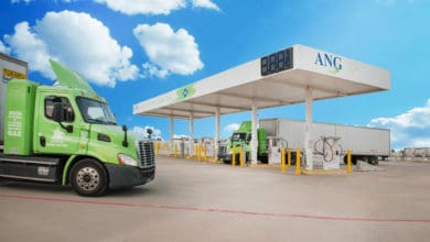 Photo of Anheuser-Busch pits renewable natural gas-chugging trucks against climate change