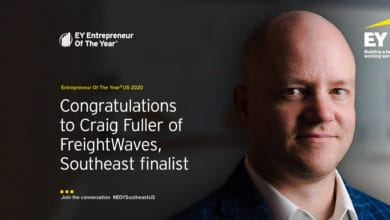 Photo of EY names FreightWaves' Fuller as Entrepreneur Of The Year® 2020 Southeast Award Finalist