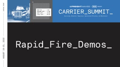 Photo of FreightWaves Carrier Summit: Demo challenge accepted