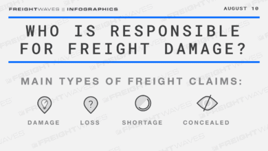 Photo of Daily Infographic: Who is responsible for freight damage?