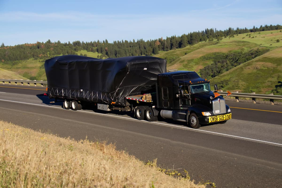 Transporting oversize loads