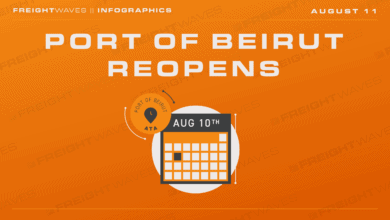 Photo of Daily Infographic: Port of Beirut reopens