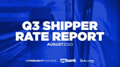 Photo of White Paper: 2020 Q3 Shipper Rate Report