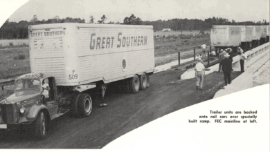 Photo of FreightWaves Flashback 1957: Great Southern on Piggy-Back