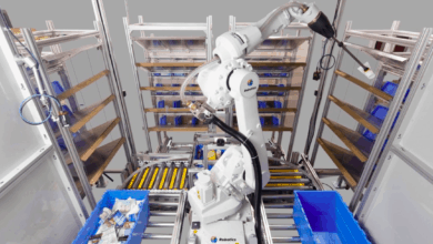 Warehouse picking robot startup raises $17 million (Photo: XYZ Robotics)