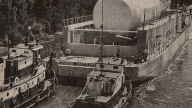 Photo of FreightWaves Flashback 1963: Airplane displaces ship in Saturn S-IV transportation role