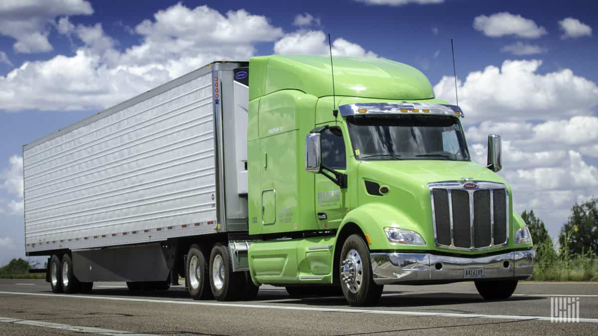 Mileage based user fee study finds trucks pay less in tax