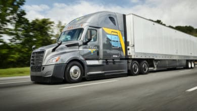 Digital trucking fleet