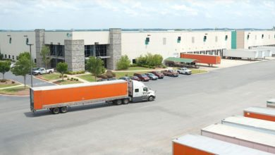 Truck at Prologis facility