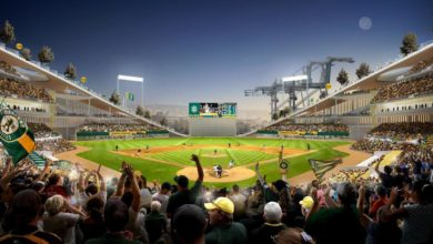 Photo of Oakland Athletics takes swing at Schnitzer Steel