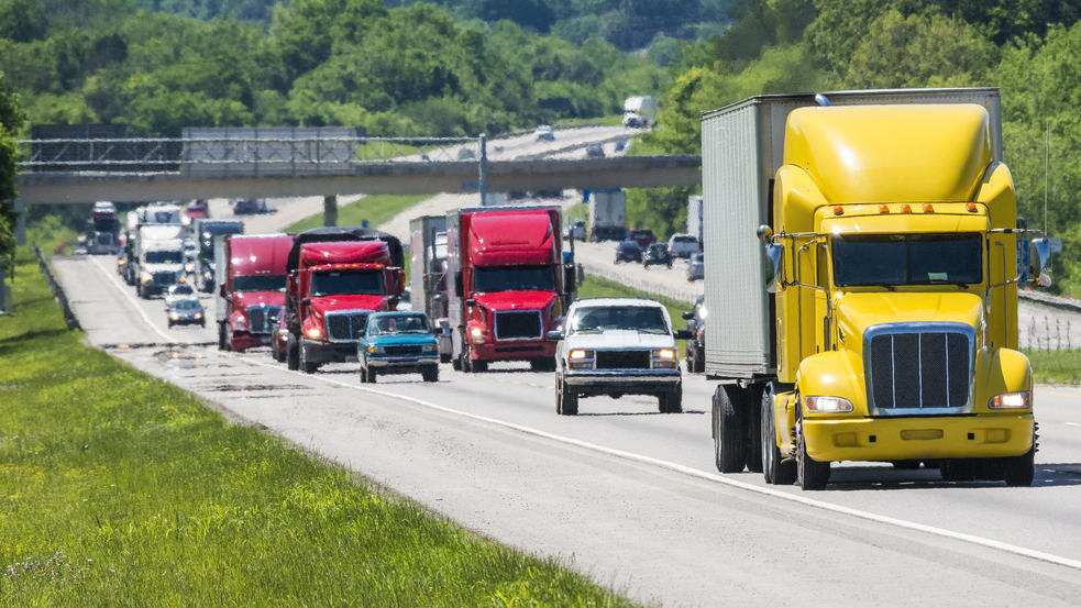 Freight volumes rise