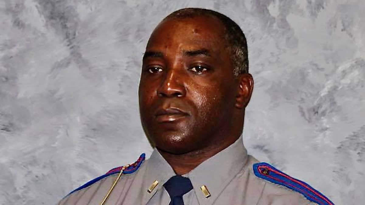 A photo of Troy Morris, a Mississippi Highway Patrol, who was killed while driving a truck for USPS.