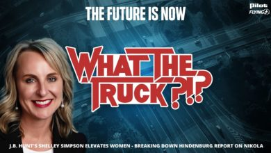 Photo of The future is now with J.B. Hunt's Shelley Simpson – WHAT THE TRUCK?!? (with video)