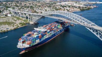 Photo of East Coast ports welcome largest vessel