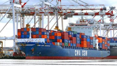 Photo of CMA CGM cargo flowing despite ransomware attack