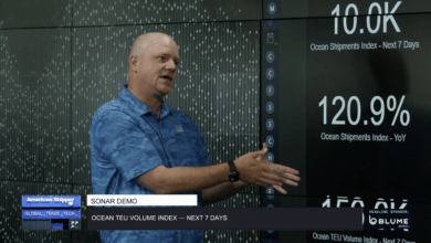 Craig Fuller, FreightWaves founder and CEO, explains a SONAR feature.